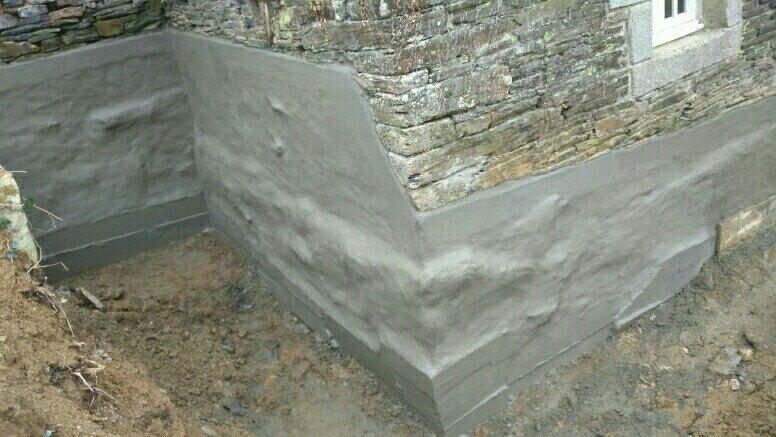 maçonnerie rénovation pierres,reprise sous oeuvre etanchéitée soubassement ,maçon à surzur sa1