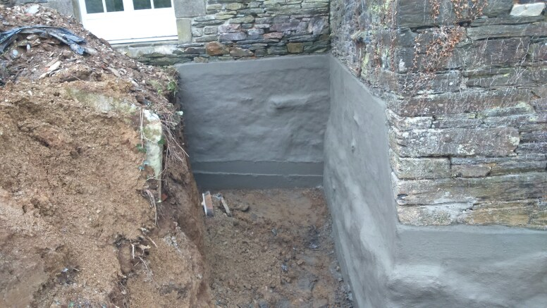 maçonnerie rénovation pierres,reprise sous oeuvre etanchéitée soubassement ,maçon à surzur sa2