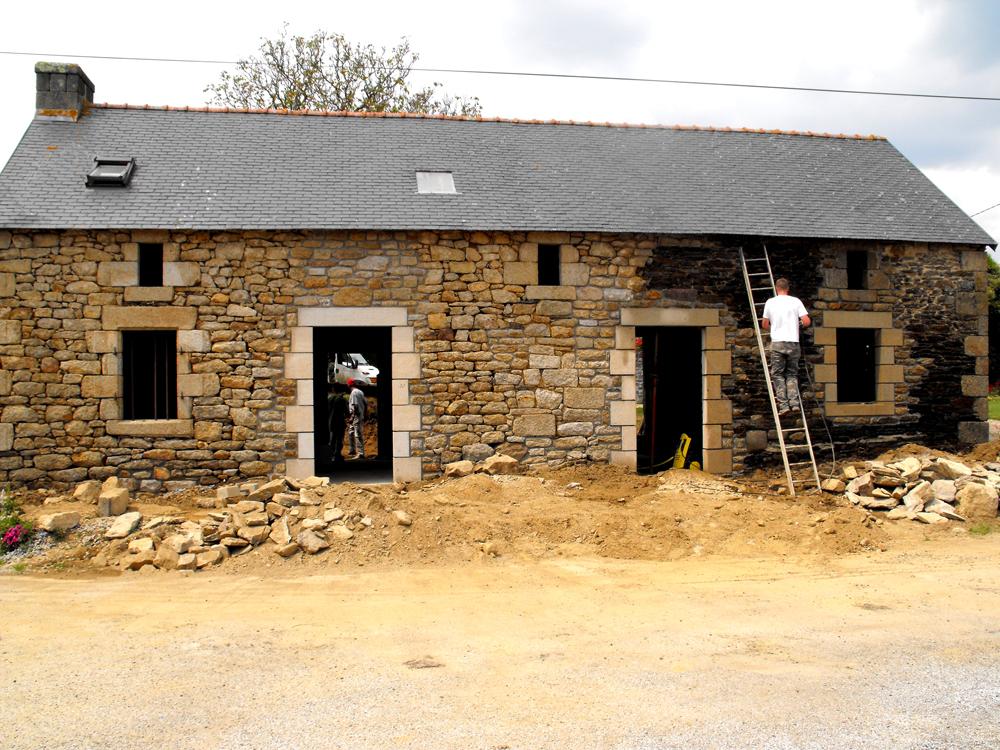 maçon à surzur rénovation maçonnerie pierres jyb5