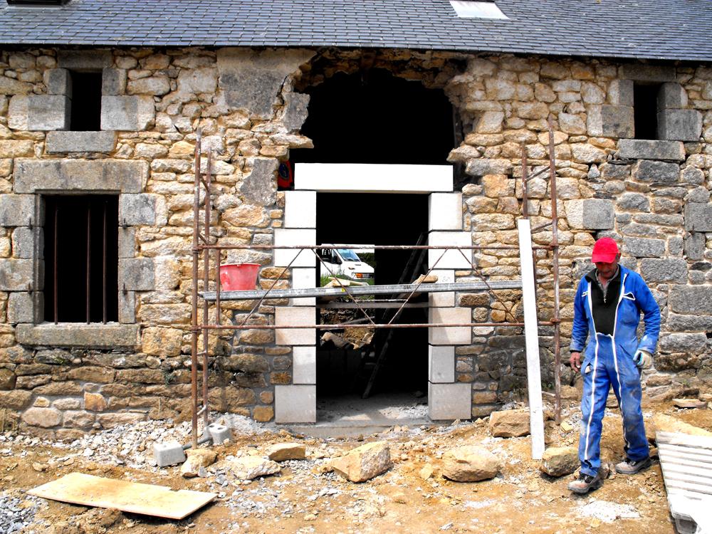 maçon à surzur rénovation maçonnerie pierres jyb2