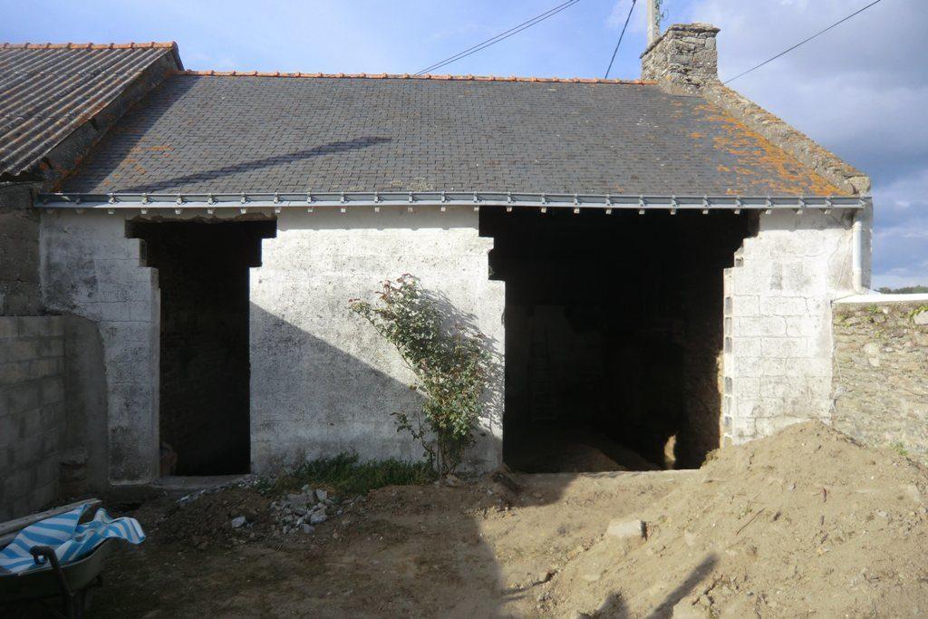 maçonnerie,maçon surzur,rénovation,pierre,construction sv23