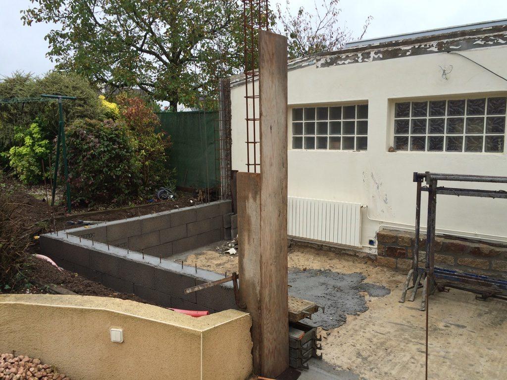 extensions rénovation maçon à surzur photo chanson 5