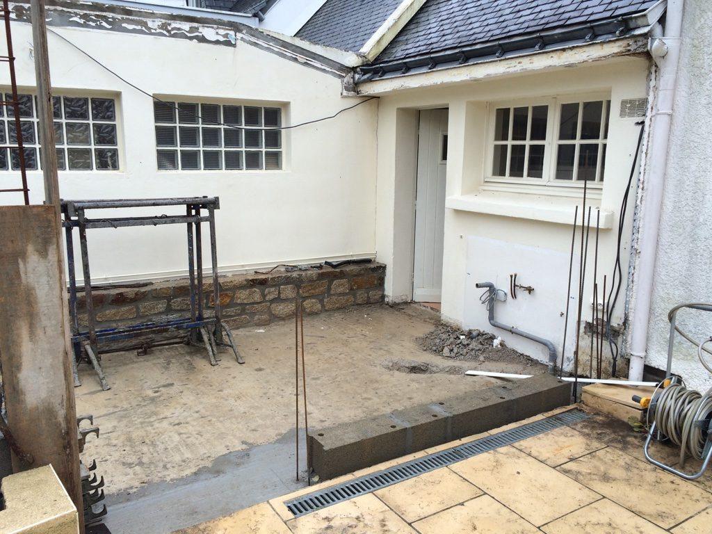 extensions rénovation maçon à surzur photo chanson 4